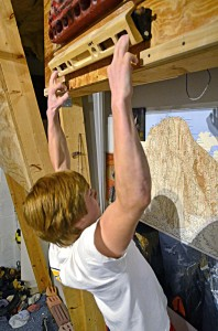 Advanced youth climbers can do small amounts of supplementary hangboard training.
