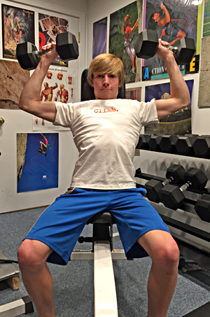 Antagonist muscle training (pushing motions) is an essential part of youth training-for-climbing program to prevent muscle imbalances that can lead to postural problems and injury.