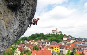 Climbing in the Frankenjura!