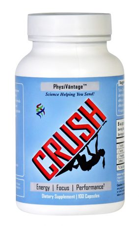 CRUSH supplement for climbers by PhysiVantage