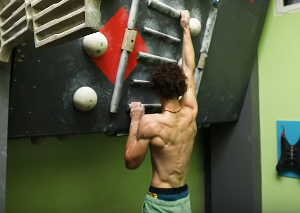 Video Adam Ondra S Quot Pro Level Quot Campus Training Training