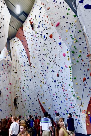 Indoor Climbing at Vertical Endeavors, Glendale Heights, IL.