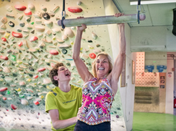 ndoor climbing can be a wonderful family activity!
