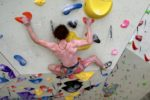 Adam Ondra training for 2020 Olympics.