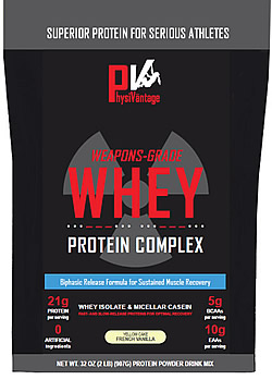 Weapons-Grade Whey Protein Complex by PhysiVantage