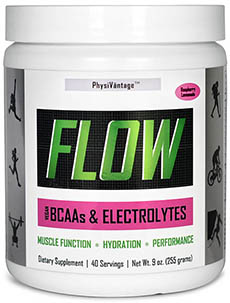 FLOW bcaa electrolyte physivantage